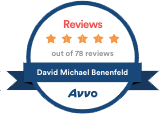Avvo Reviews David Michael Benenfeld