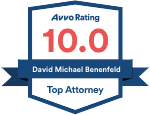 Avvo Rating 10.0 David Michael Benenfeld
