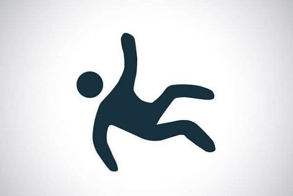 slip and fall symbol