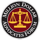 Badge for the Million Dollar Advocates Forum