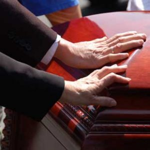 Family grieving due to a wrongful death of a loved one in West Palm Beach