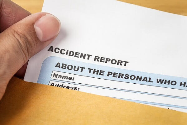 Work Injury Accident Report