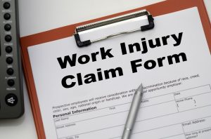 Work injury claim form in Fort Lauderdale
