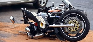 Motorcycle crashed due to accident in Fort Lauderdale