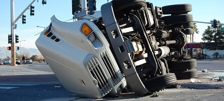 truck after accident