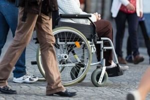 west palm beach personal injury attorney - woman in a wheelchair