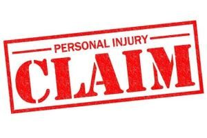 West Palm Beach personal injury lawyer - red personal injury claim sign
